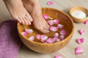 fare la pedicure a casa
