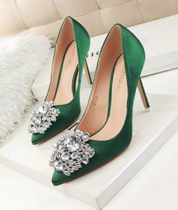scarpe da sera con tacco alto