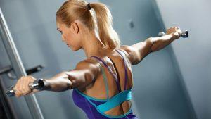 esercizi per le braccia a tendina