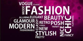 linguaggio della moda